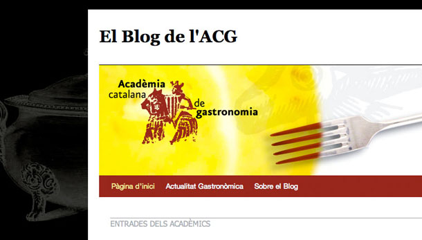 Bloc de l'Acadèmia Catalana de Gastronomia