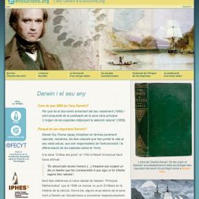 Charles Darwin a evoluciona.org