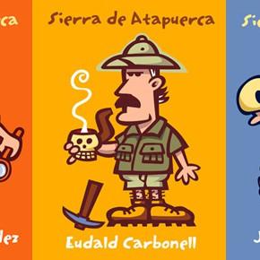 Il·lustracions sobre la Sierra de Atapuerca