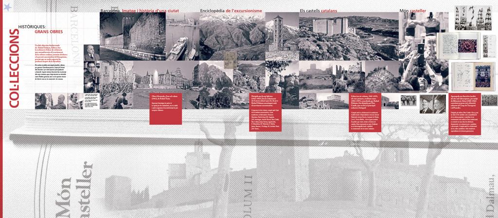 Exposició 50 aniversari de l'editorial Rafael Dalmau. Àmbit 3
