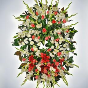 Corona floral per a Cabré Junqueras S.A.