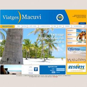 Web de Viatges Macuvi