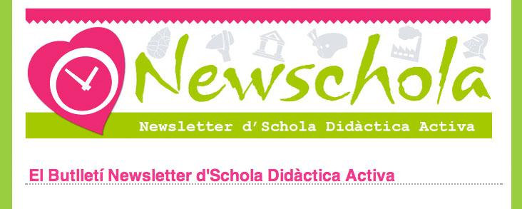 Newsletter d'Schola Didàctica Activa