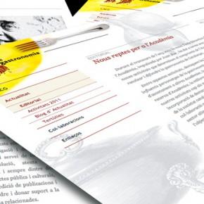 Web i blog de l'Acadèmia Catalana de Gastronomia