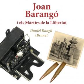 Fotografia per a la portada del llibre Joan Barangó de Daniel Rangil