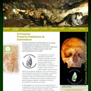 El projecte Primeros pobladores de Extremadura
