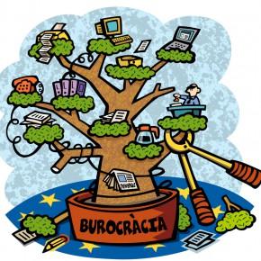 Dibuix per a la crònica de Brusel·les de la revista La Terra núm 349