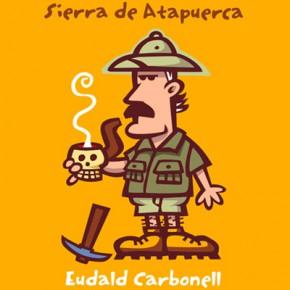 Eudald Carbonell per Xavier Cáliz, dibuix per a postal i bagmòbil