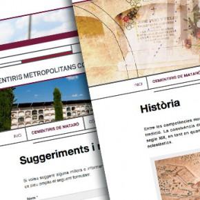 Web de Cementiris Metropolitans