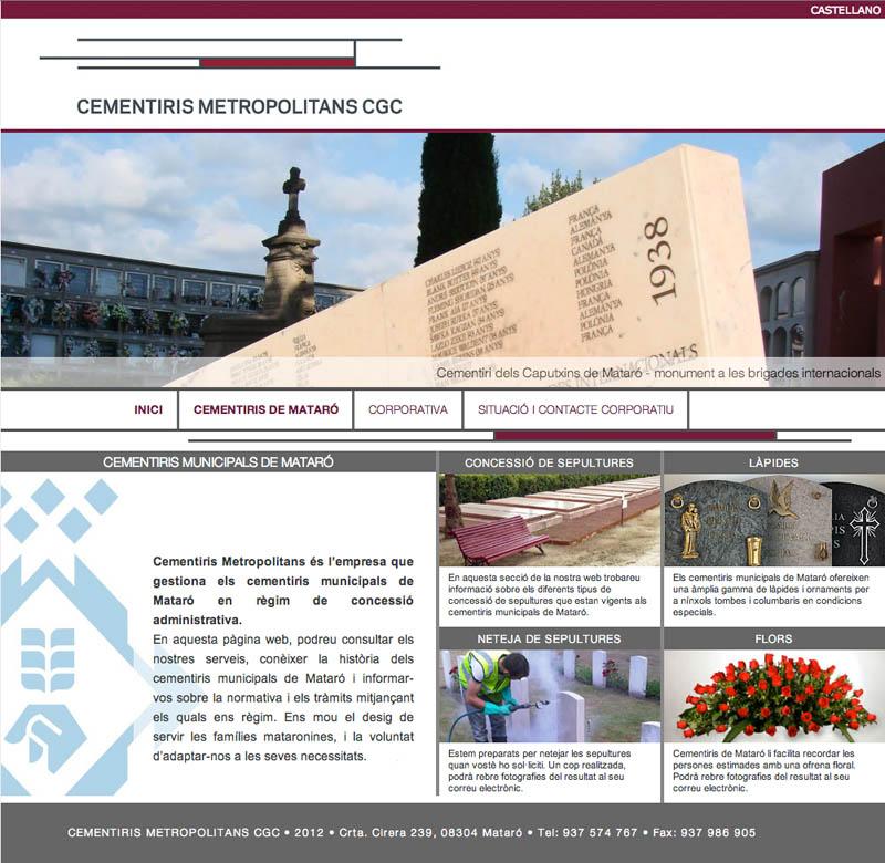 Cementiris Metropolitans CGC