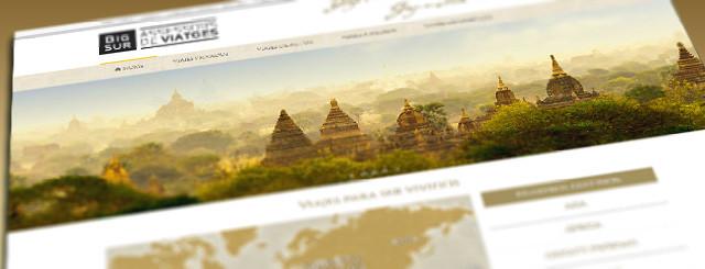 Web 2015 de viatges Bigsur